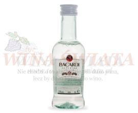 BACARDI CARTA BLANCA 0,05L 40% MINI